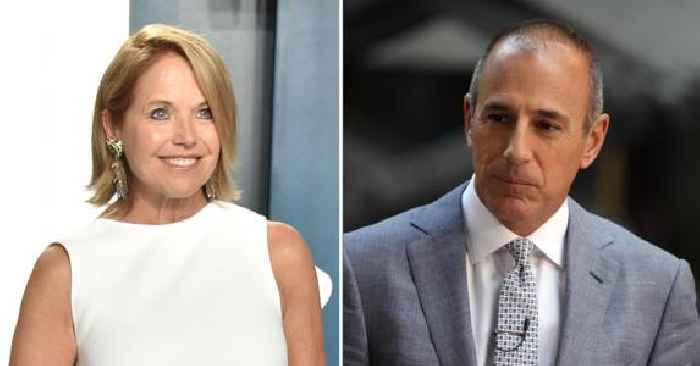 Katie Couric Calls Matt Lauer's Behavior 'Grossly Inappropriate' After Previously Offering The Disgraced Host Sympathy