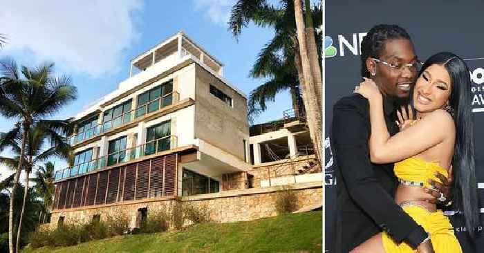 Offset Gifts Cardi B With A Dominican Republic Mansion For The Rapper's 29th Birthday — See The Lavish Estate