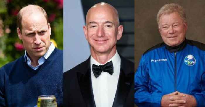 Prince William Slams Jeff Bezos & Other Billionaires In Space Race Following William Shatner's Rocket Ride