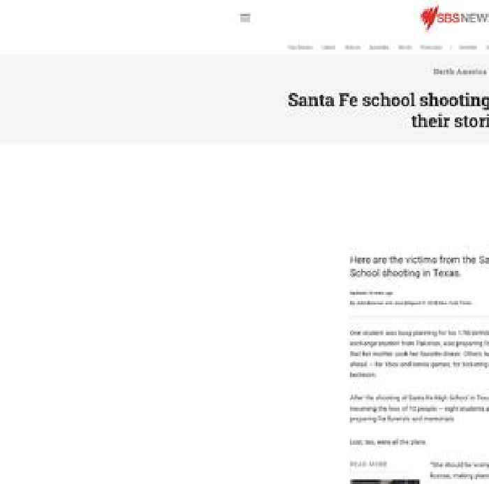 Santa Fe School Shooting Victims: Here Are Their Stories