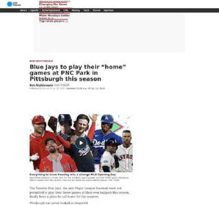 Blue Jays to play their