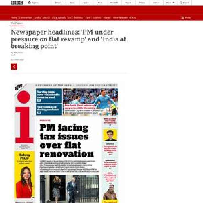The Papers: 'PM under pressure' and 'India at breaking point'