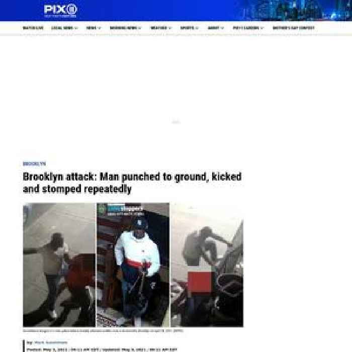 Brooklyn attack: Man punched to ground, kicked and stomped repeatedly