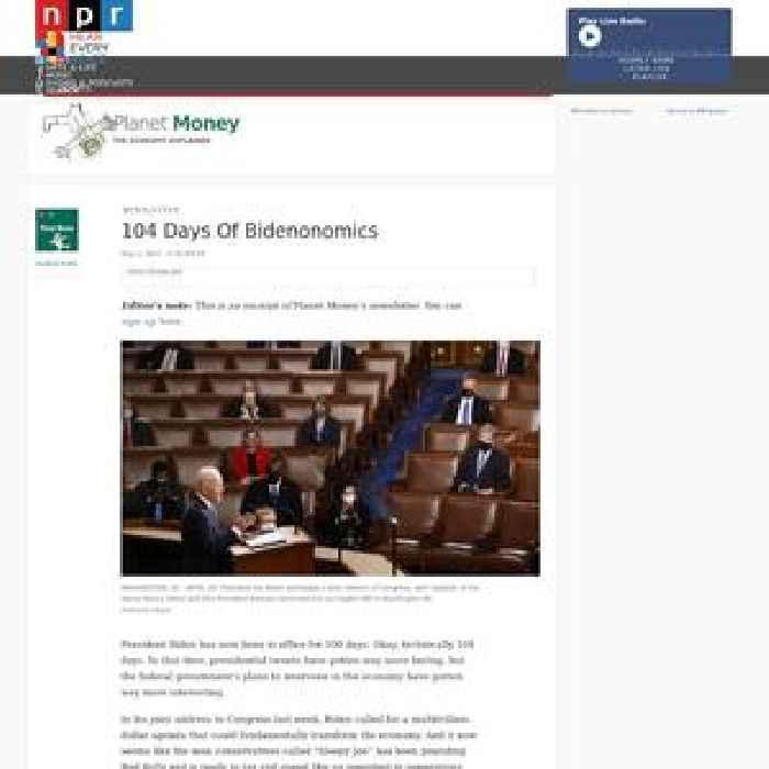 104 Days Of Bidenonomics