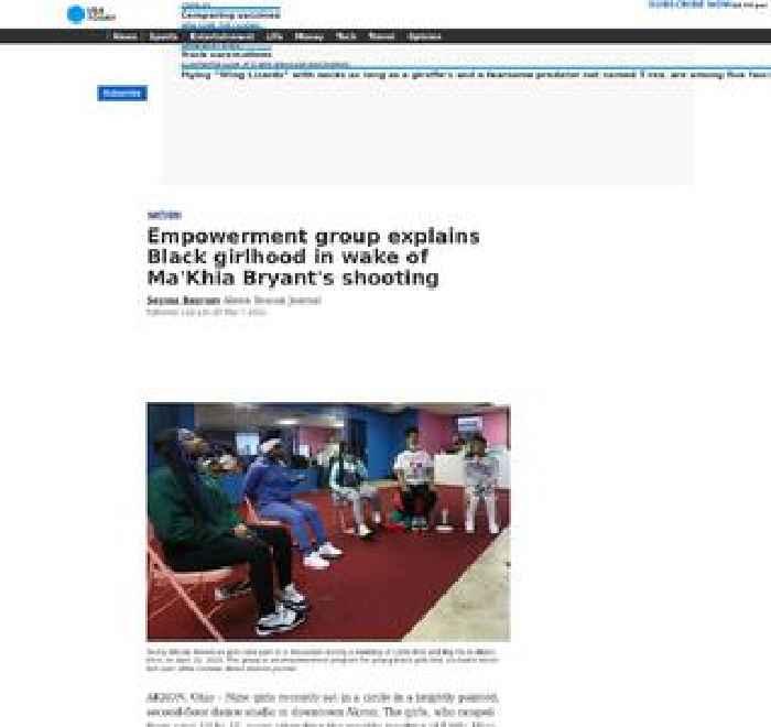 Empowerment group explains Black girlhood in wake of Ma'Khia Bryant's shooting