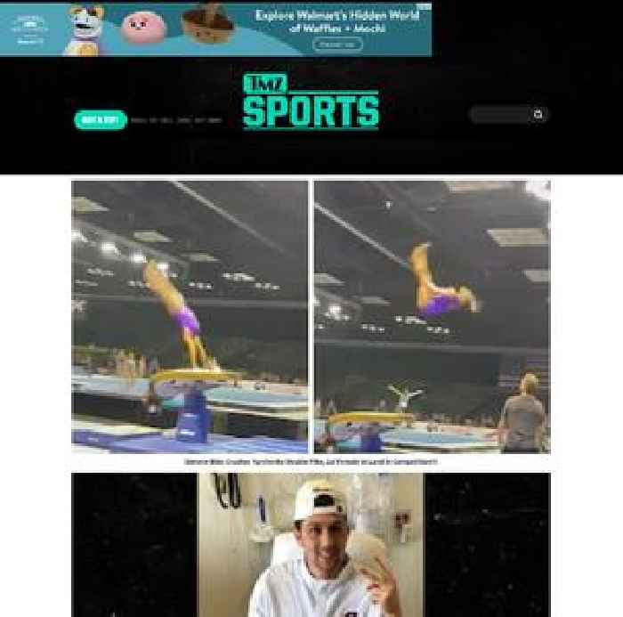 Simone Biles Crushes Yurchenko Double Pike, 1st Female to Land In Competition?!