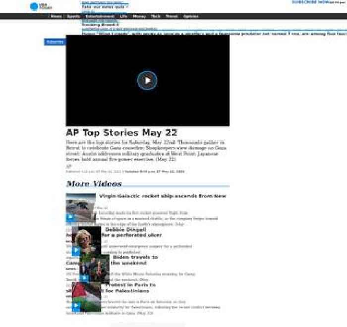 AP Top Stories May 22 P
