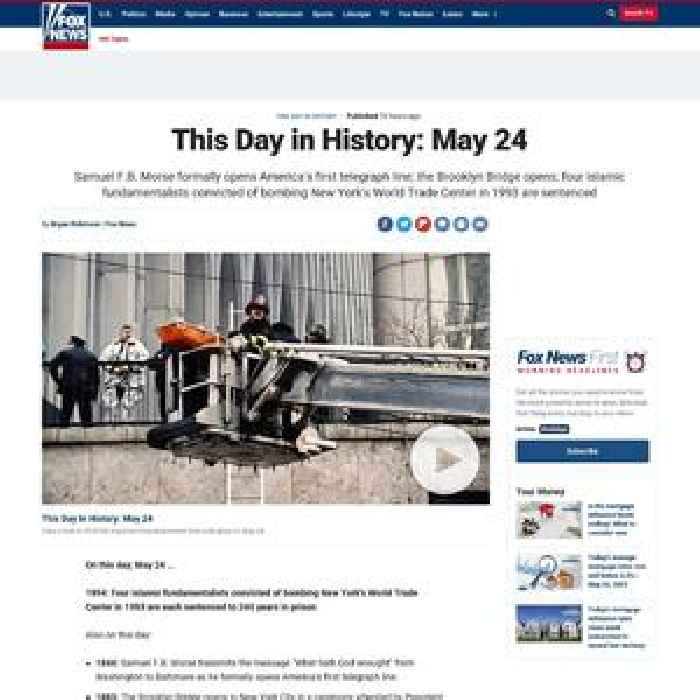 This Day in History: May 24