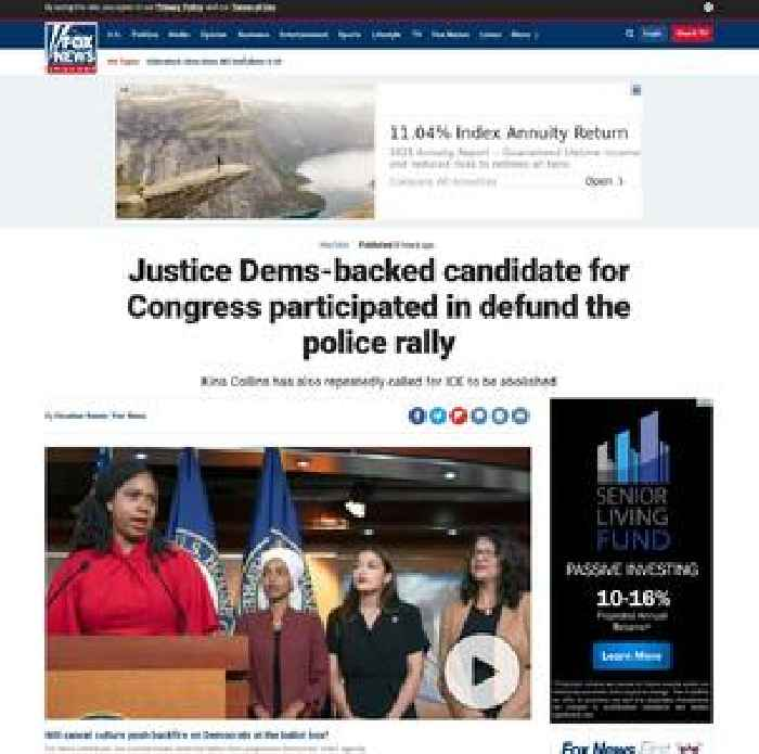 Justice Dems-backed candidate for Congress participated in defund the police rally