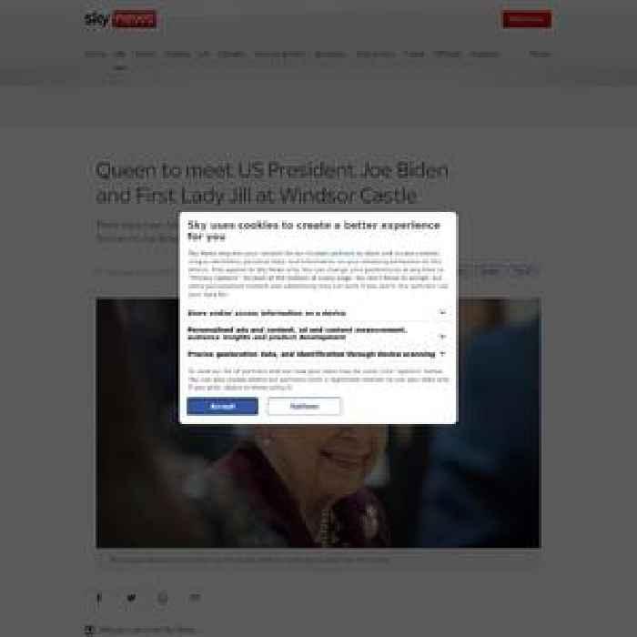 Queen to meet President Biden at Windsor Castle