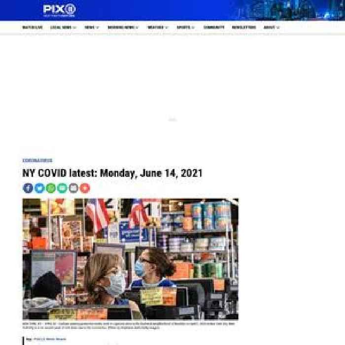 NY COVID latest: Monday, June 14, 2021