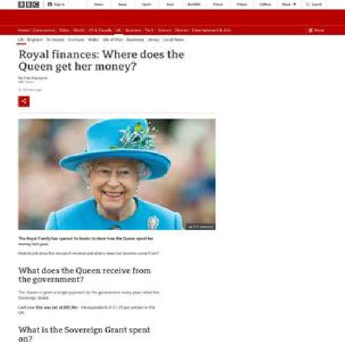 Royal finances: Where does the Queen get her money?
