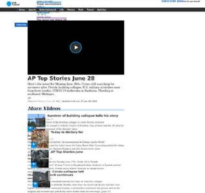 AP Top Stories June 28 A