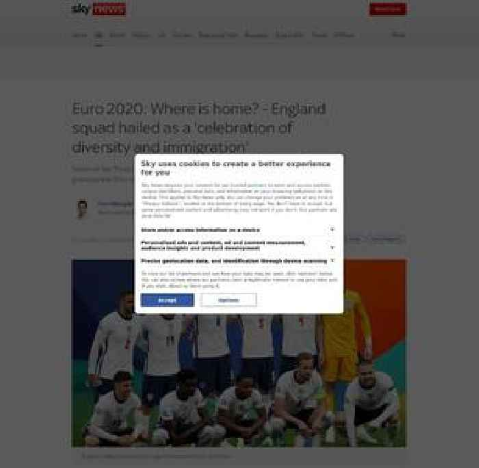Where is home? England squad hailed as a 'celebration of diversity and immigration'