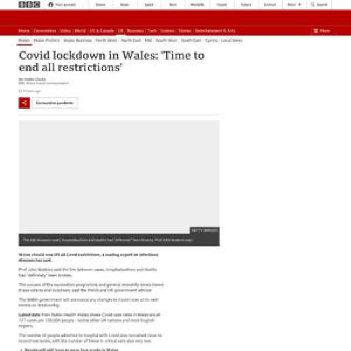 Covid lockdown in Wales: 'Time to end all restrictions'