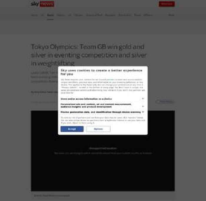 Team GB win gold in team eventing at Tokyo Olympics