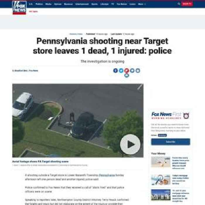 Pennsylvania police responding to reports of 'shots fired' at Target store