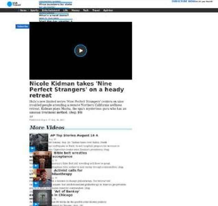 Nicole Kidman takes 'Nine Perfect Strangers' on a heady retreat