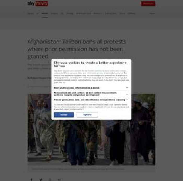 Taliban bans all protests where prior permission has not been granted