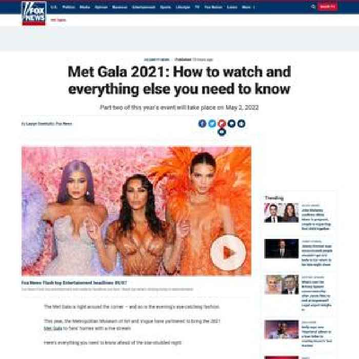 Met Gala 2021: How to watch and everything else you need to know