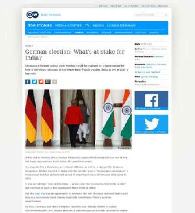 German election: What's at stake for India?