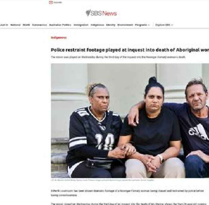 Police restraint footage played at inquest into death of Aboriginal woman Ms Wynne