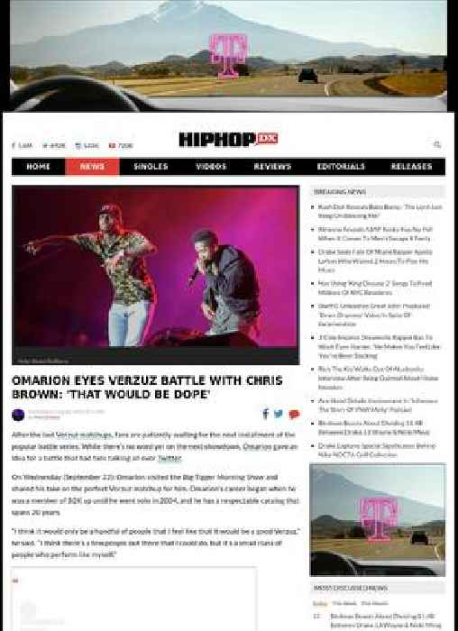 Omarion Eyes Verzuz Battle With Chris Brown: 'That Would Be Dope'