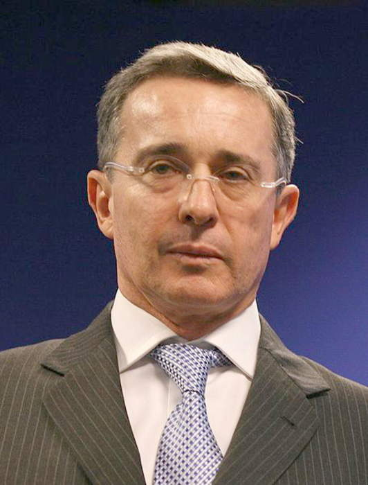 Former Colombian president testifies in witness tampering case