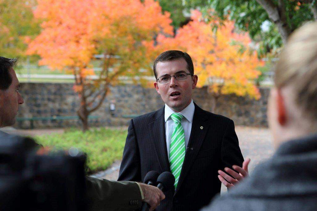 'Like being hit by a bus': Agriculture Minister Adam Marshall's first days of COVID