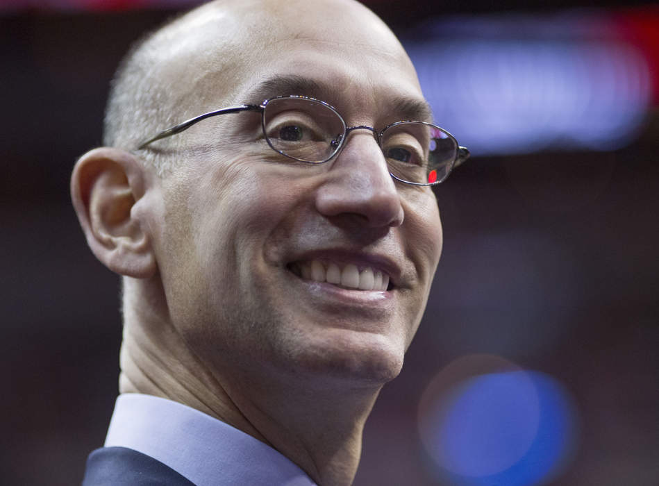 NBA's Silver says won't regulate what players, employees say on issues