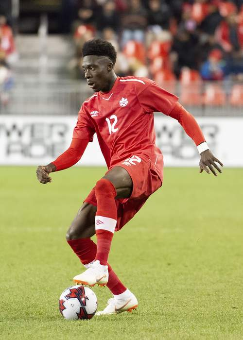 Bayern Munich defender Alphonso Davies on his parents fleeing war and his efforts to help refugees