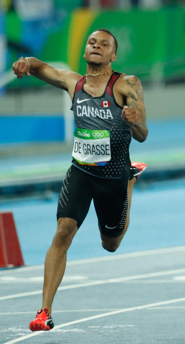 Andre De Grasse's mom never doubted her son would win Olympic gold