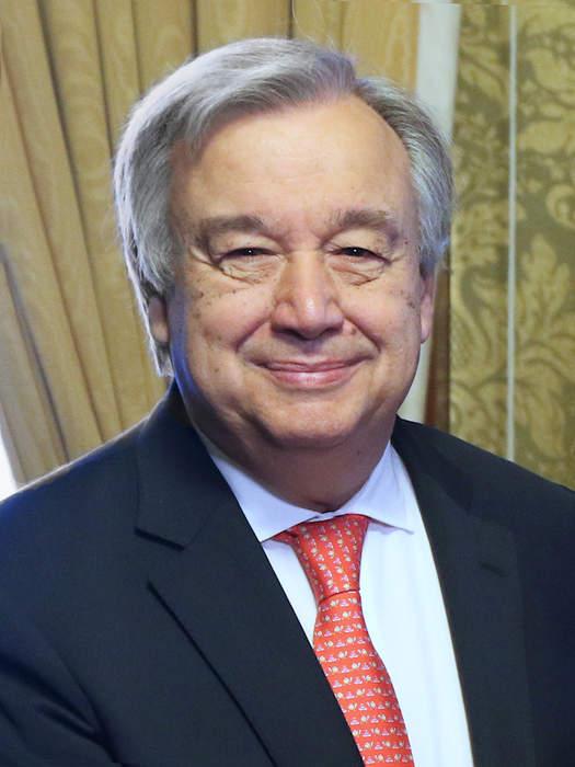 UN Secretary-General Antonio Guterres: '2021 is a make it or break it year' for the environment