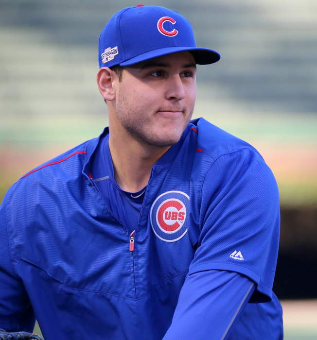 Anthony Rizzo prepared for last stand with Cubs. 'I can't tell you what the future holds'