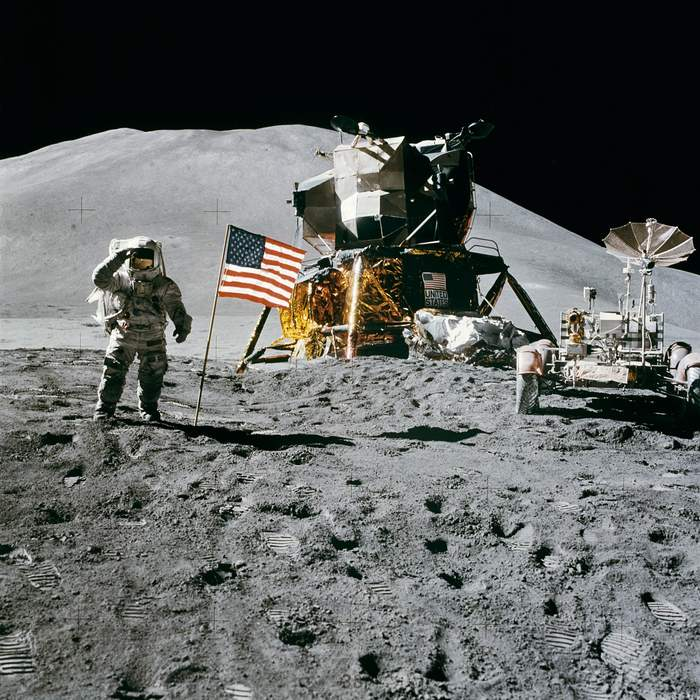 Remastered Apollo 15 photos reveal new details, just in time for mission's 50th anniversary