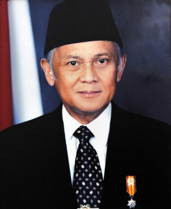 Indonesia's Habibie, president during transition to democracy, dies at 83