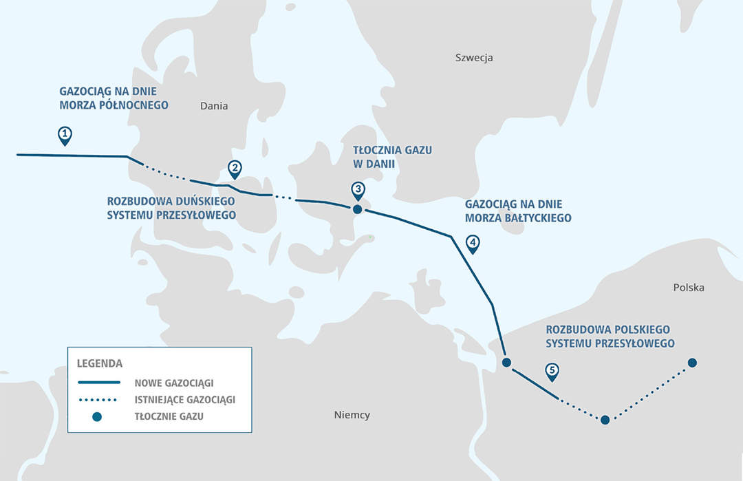 Baltic Pipe delay to push Poland back into Russia's arms