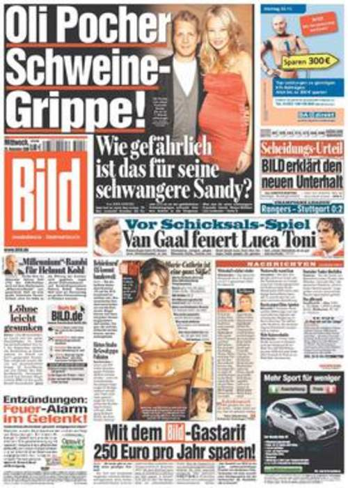 Powerful German editor, accused of misconduct, takes leave