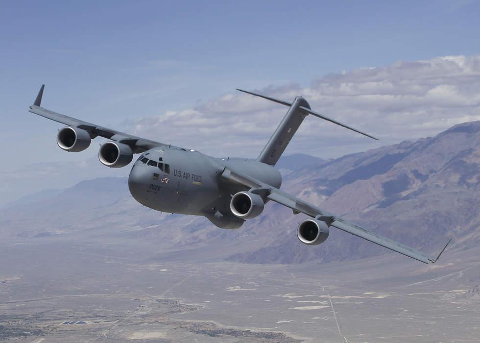 Afghan Woman Gives Birth on C-17 Evacuation Plane