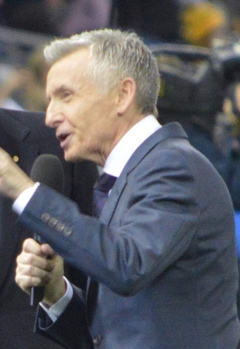 Bruce McAvaney is a national treasure. May he drop this talk of retirement