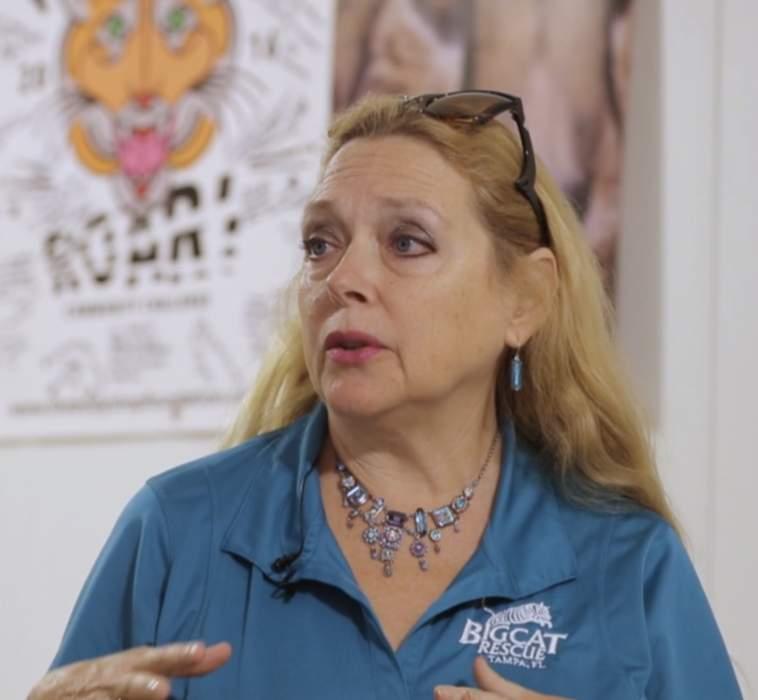 Carole Baskin Offers $5k Reward to Help Find Missing Houston Tiger