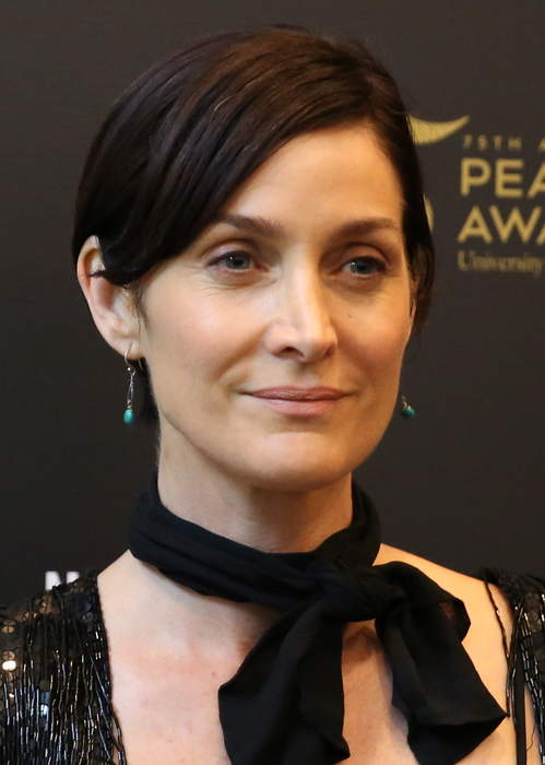 Carrie-Anne Moss says she was offered grandmother role 'literally the day after my 40th birthday'