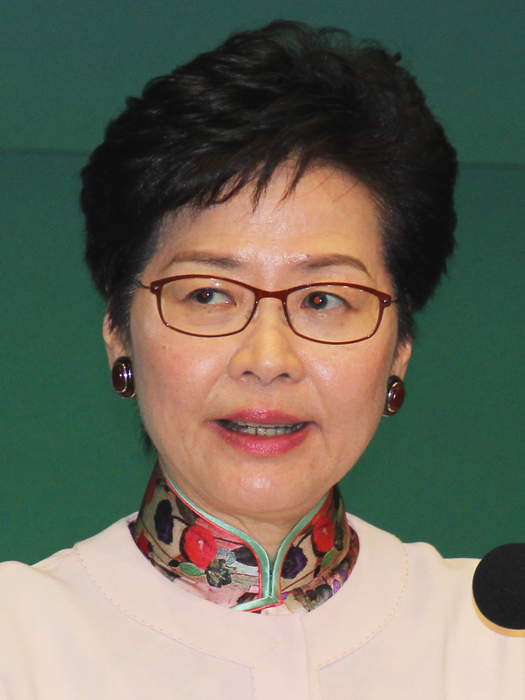 Hong Kong leader says opponents of security law are