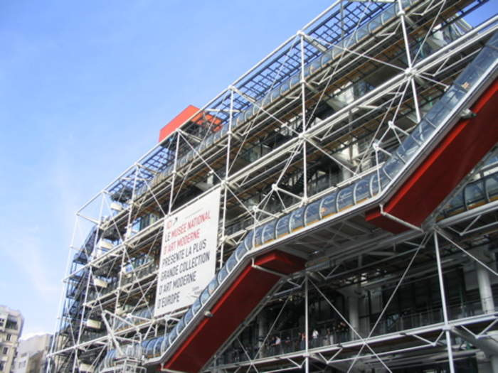 In Paris, the Pompidou Centre prepares to reopen with one-way system and masks