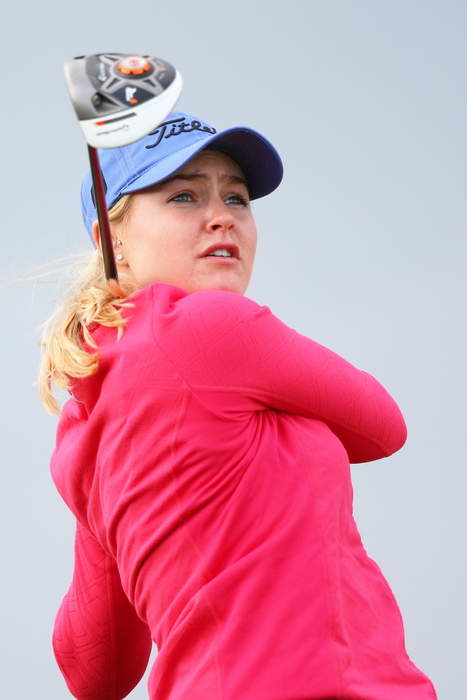Women's PGA Championship: Charley Hull in strong position after opening round