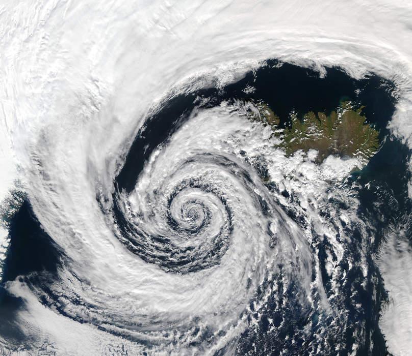 Cyclone forms off Western Australian coast, bringing wild winds and heavy rain