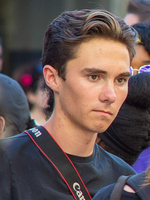 David Hogg says he is no longer part of pillow company