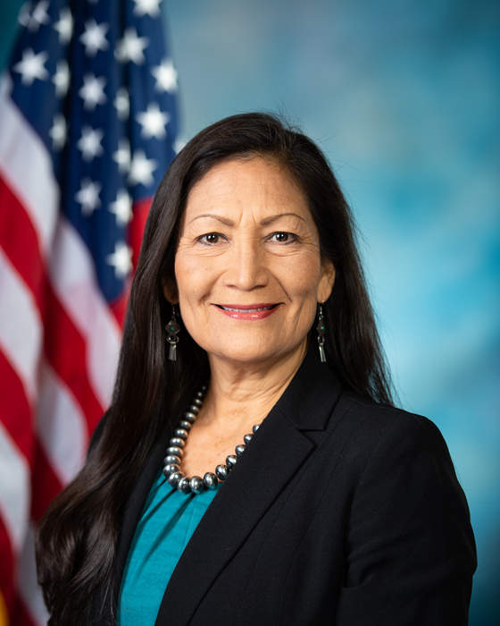 New Mexico Rep. Deb Haaland becomes first Native American to serve as a Cabinet secretary