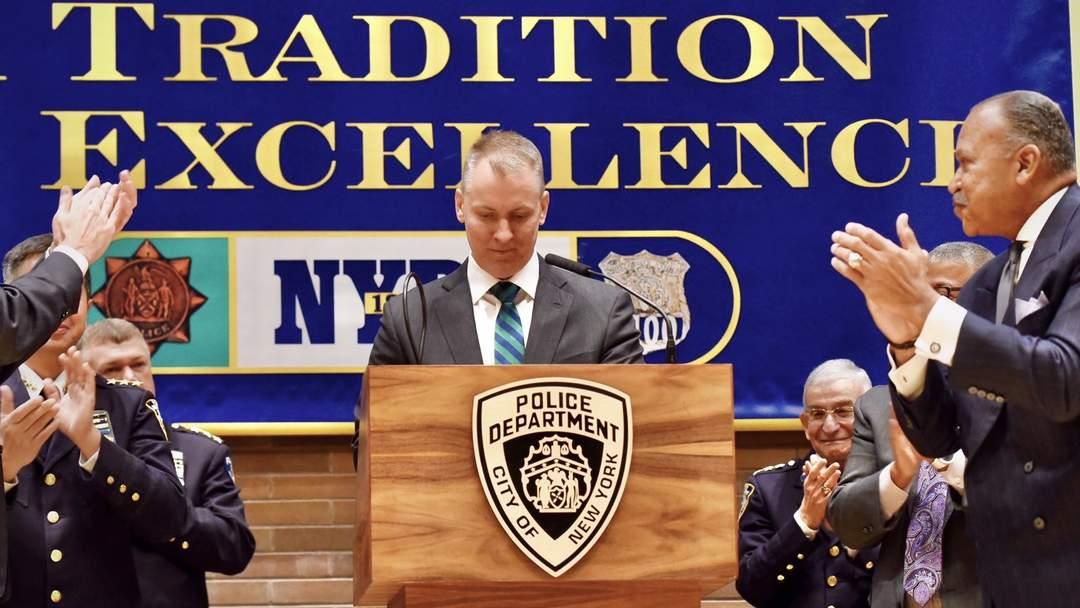 NYPD boss Dermot Shea a no-show as Mayor de Blasio hammered over shooting surge