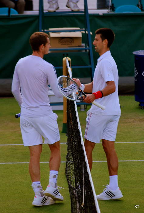 Murray & Djokovic build their perfect player and discuss the 'GOAT'